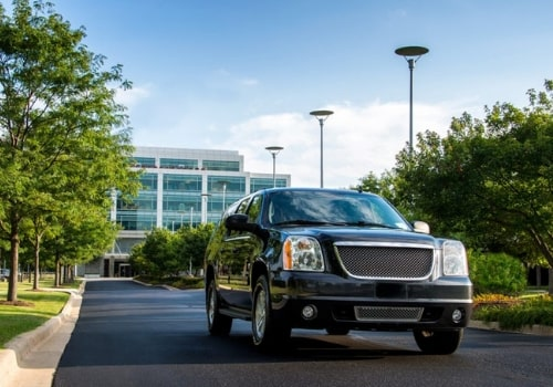 GMC Yukon is very comfortable with leather interior and enough space for everyone!
